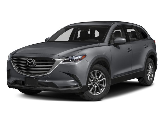 Machine Gray Metallic 2018 Mazda CX-9 Pictures CX-9 Touring AWD photos front view