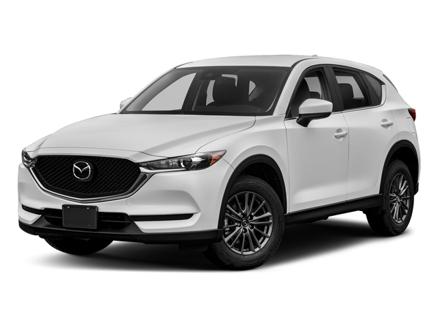 Snowflake White Pearl Mica 2018 Mazda CX-5 Pictures CX-5 Sport AWD photos front view