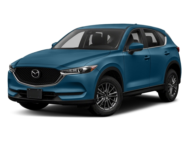 Eternal Blue Mica 2018 Mazda CX-5 Pictures CX-5 Sport AWD photos front view