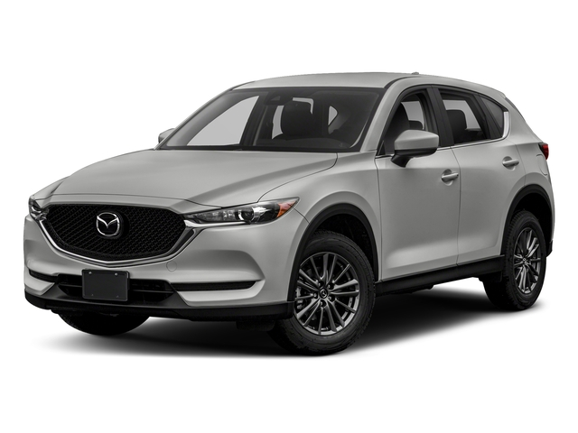 Sonic Silver Metallic 2018 Mazda CX-5 Pictures CX-5 Sport FWD photos front view