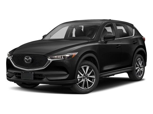 Jet Black Mica 2018 Mazda CX-5 Pictures CX-5 Utility 4D Touring AWD I4 photos front view