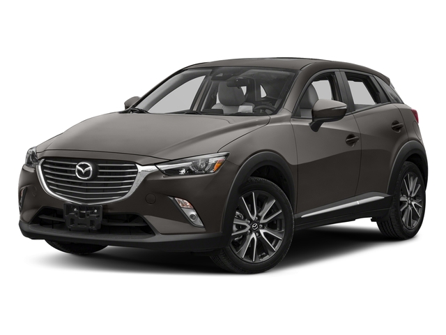 Titanium Flash Mica 2018 Mazda CX-3 Pictures CX-3 Utility 4D GT AWD I4 photos front view