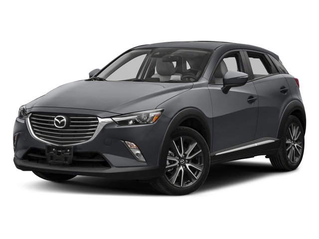 Machine Gray Metallic 2018 Mazda CX-3 Pictures CX-3 Utility 4D GT AWD I4 photos front view