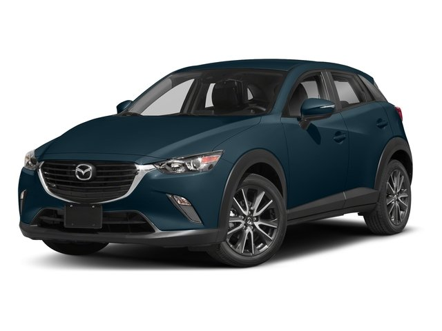 Deep Crystal Blue Mica 2018 Mazda CX-3 Pictures CX-3 Touring FWD photos front view