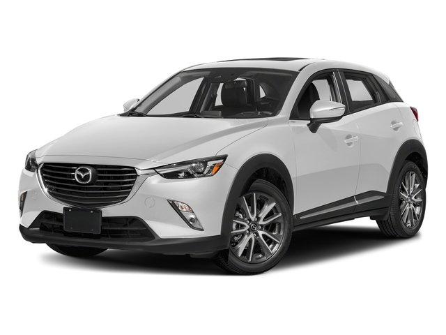 Snowflake White Pearl Mica 2018 Mazda CX-3 Pictures CX-3 Grand Touring FWD photos front view