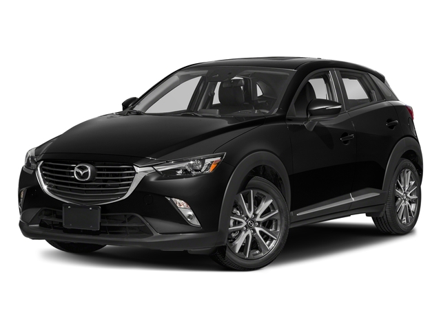 Jet Black Mica 2018 Mazda CX-3 Pictures CX-3 Grand Touring FWD photos front view
