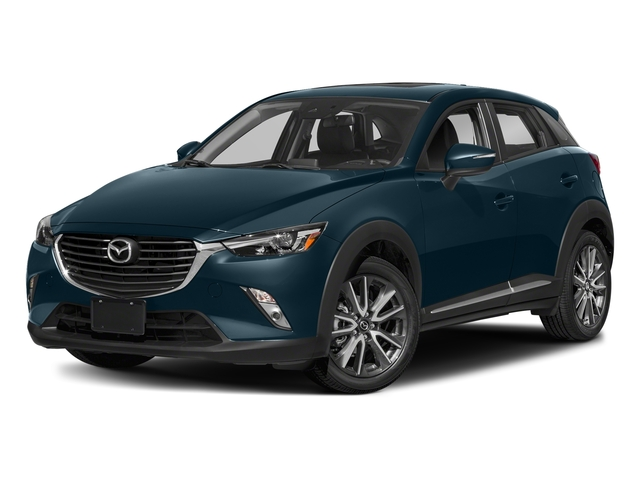 Deep Crystal Blue Mica 2018 Mazda CX-3 Pictures CX-3 Grand Touring FWD photos front view