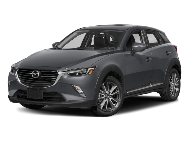 Machine Gray Metallic 2018 Mazda CX-3 Pictures CX-3 Grand Touring FWD photos front view