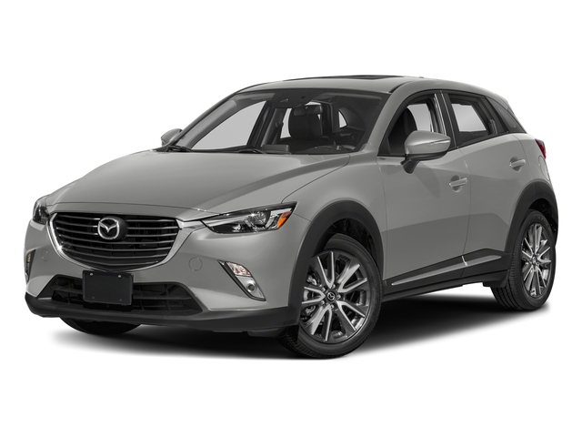 Ceramic Metallic 2018 Mazda CX-3 Pictures CX-3 Grand Touring FWD photos front view