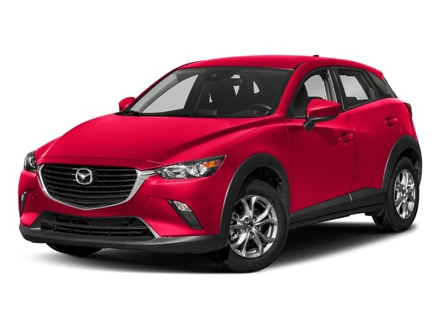 Soul Red Metallic 2018 Mazda CX-3 Pictures CX-3 Sport AWD photos front view