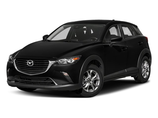 Jet Black Mica 2018 Mazda CX-3 Pictures CX-3 Sport AWD photos front view
