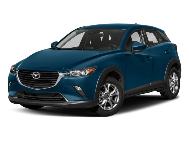 Eternal Blue Mica 2018 Mazda CX-3 Pictures CX-3 Sport AWD photos front view