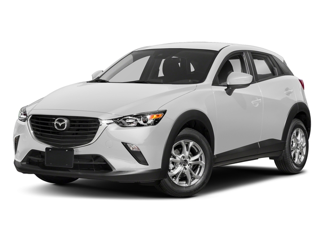 Snowflake White Pearl Mica 2018 Mazda CX-3 Pictures CX-3 Sport FWD photos front view