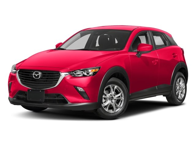 Soul Red Metallic 2018 Mazda CX-3 Pictures CX-3 Utility 4D Sport 2WD I4 photos front view