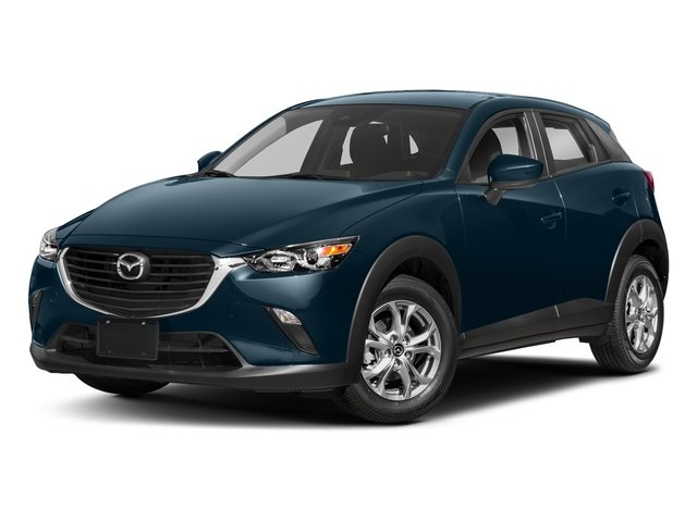 Deep Crystal Blue Mica 2018 Mazda CX-3 Pictures CX-3 Sport FWD photos front view