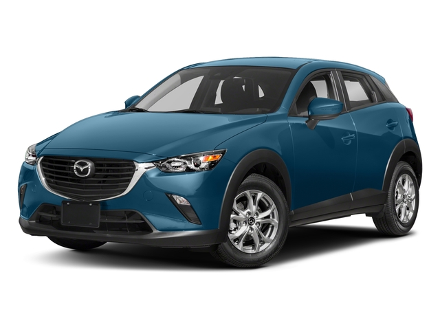 Eternal Blue Mica 2018 Mazda CX-3 Pictures CX-3 Sport FWD photos front view
