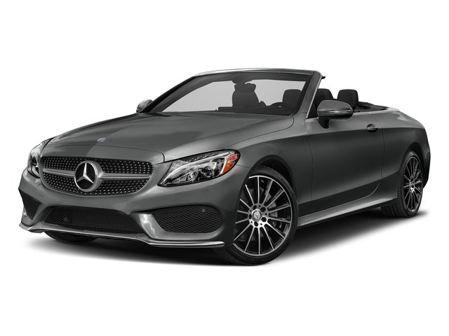 Selenite Grey Metallic 2018 Mercedes-Benz C-Class Pictures C-Class C 300 Cabriolet photos front view