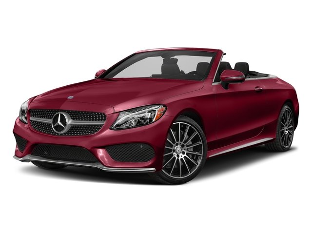 designo Cardinal Red Metallic 2018 Mercedes-Benz C-Class Pictures C-Class C 300 Cabriolet photos front view