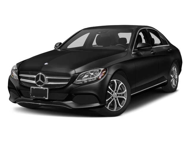 Obsidian Black Metallic 2018 Mercedes-Benz C-Class Pictures C-Class C 300 Sedan photos front view