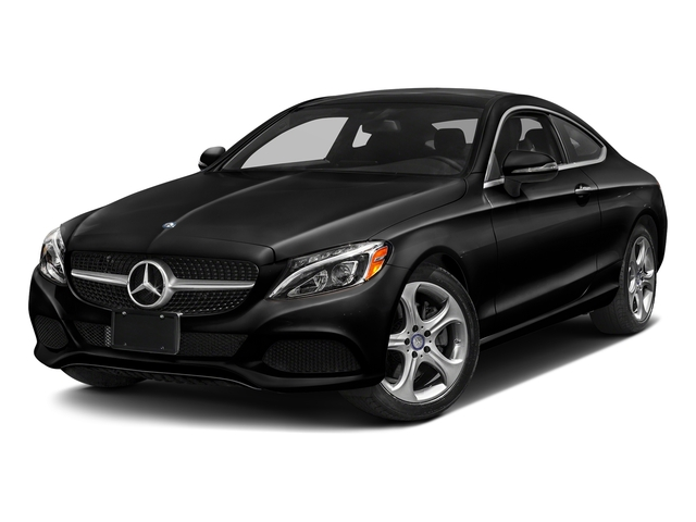 Obsidian Black Metallic 2018 Mercedes-Benz C-Class Pictures C-Class C 300 4MATIC Coupe photos front view