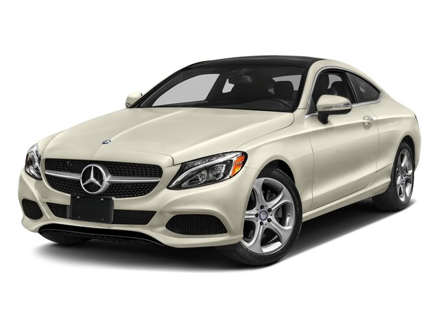 designo Diamond White Metallic 2018 Mercedes-Benz C-Class Pictures C-Class C 300 4MATIC Coupe photos front view