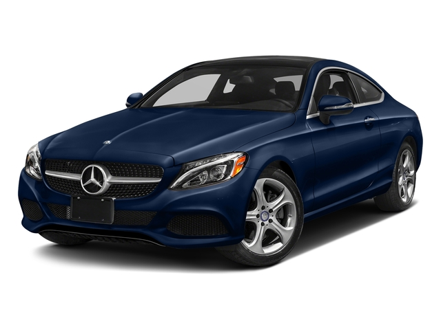 Brilliant Blue Metallic 2018 Mercedes-Benz C-Class Pictures C-Class C 300 4MATIC Coupe photos front view