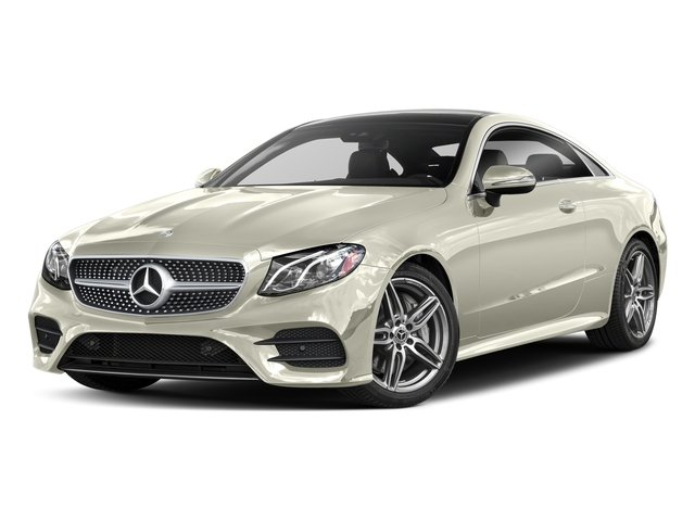 Polar White 2018 Mercedes-Benz E-Class Pictures E-Class E 400 4MATIC Coupe photos front view