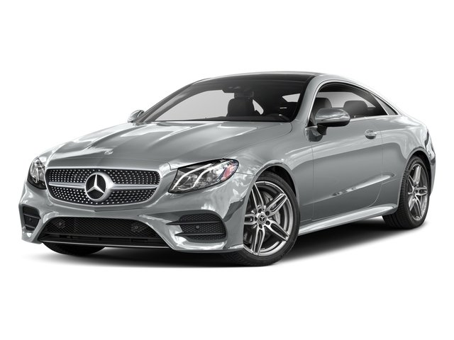 Iridium Silver Metallic 2018 Mercedes-Benz E-Class Pictures E-Class E 400 4MATIC Coupe photos front view