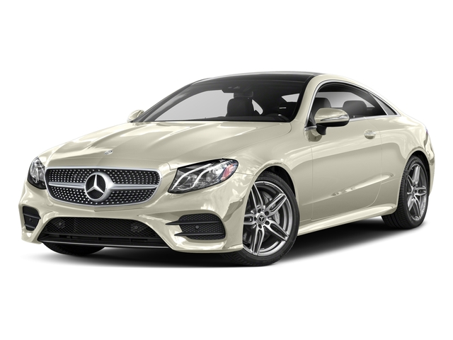 designo Diamond White 2018 Mercedes-Benz E-Class Pictures E-Class E 400 4MATIC Coupe photos front view