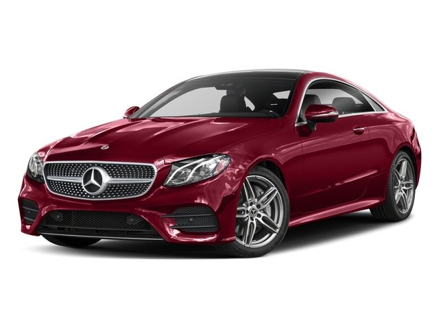 designo Cardinal Red Metallic 2018 Mercedes-Benz E-Class Pictures E-Class E 400 4MATIC Coupe photos front view