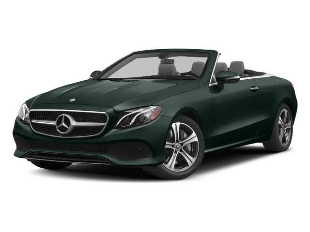 Emerald Green Metallic 2018 Mercedes-Benz E-Class Pictures E-Class E 400 4MATIC Cabriolet photos front view