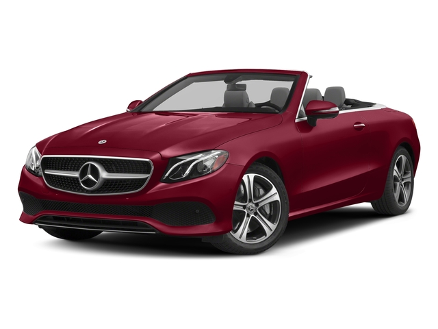 designo Cardinal Red Metallic 2018 Mercedes-Benz E-Class Pictures E-Class E 400 4MATIC Cabriolet photos front view