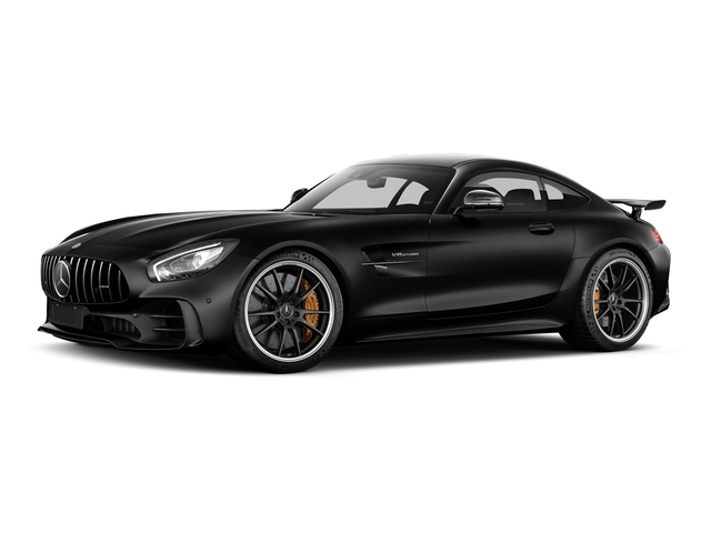 Magnetite Black Metallic 2018 Mercedes-Benz AMG GT Pictures AMG GT AMG GT R Coupe photos front view