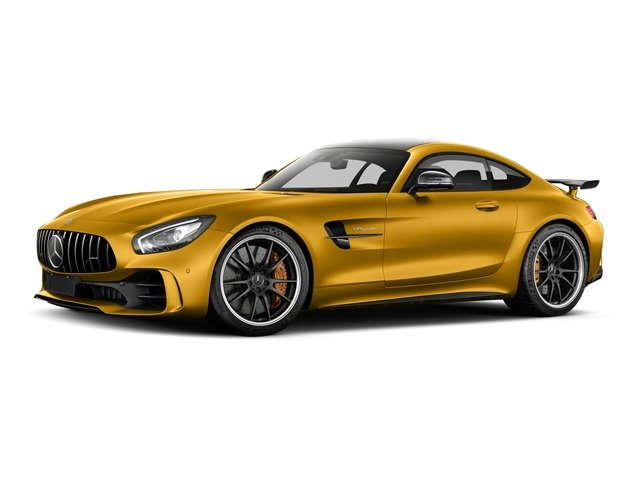 AMG Solarbeam Yellow Metallic 2018 Mercedes-Benz AMG GT Pictures AMG GT AMG GT R Coupe photos front view