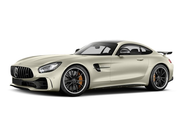 designo Diamond White Metallic 2018 Mercedes-Benz AMG GT Pictures AMG GT AMG GT R Coupe photos front view