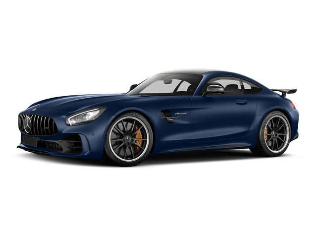 Brilliant Blue Metallic 2018 Mercedes-Benz AMG GT Pictures AMG GT AMG GT R Coupe photos front view