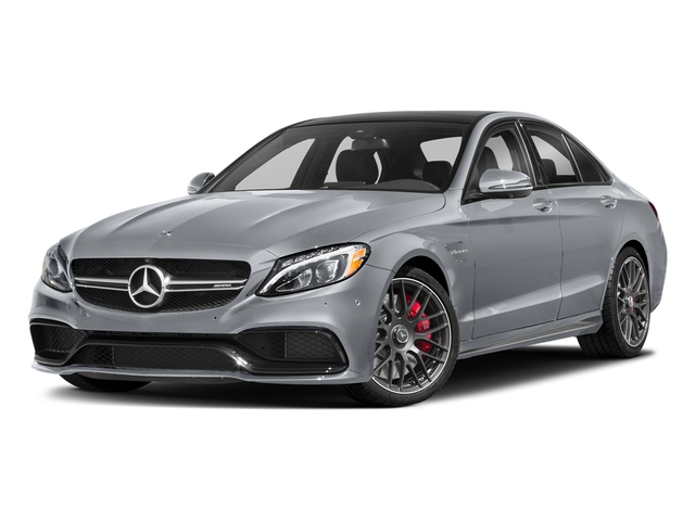 Diamond Silver Metallic 2018 Mercedes-Benz C-Class Pictures C-Class AMG C 63 S Sedan photos front view