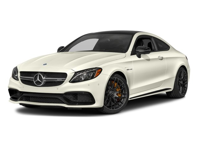 Polar White 2018 Mercedes-Benz C-Class Pictures C-Class AMG C 63 S Coupe photos front view
