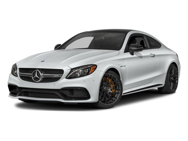 Iridium Silver Metallic 2018 Mercedes-Benz C-Class Pictures C-Class AMG C 63 S Coupe photos front view