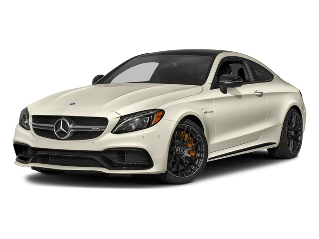 designo Diamond White Metallic 2018 Mercedes-Benz C-Class Pictures C-Class AMG C 63 S Coupe photos front view