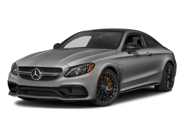 Selenite Grey Metallic 2018 Mercedes-Benz C-Class Pictures C-Class AMG C 63 S Coupe photos front view
