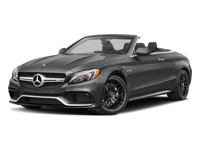 Selenite Grey Metallic 2018 Mercedes-Benz C-Class Pictures C-Class AMG C 63 Cabriolet photos front view