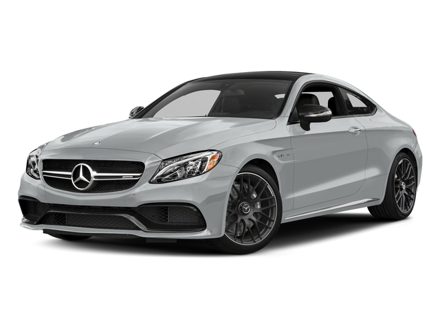 Iridium Silver Metallic 2018 Mercedes-Benz C-Class Pictures C-Class AMG C 63 Coupe photos front view