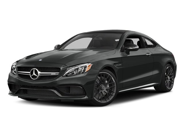 Selenite Grey Metallic 2018 Mercedes-Benz C-Class Pictures C-Class AMG C 63 Coupe photos front view