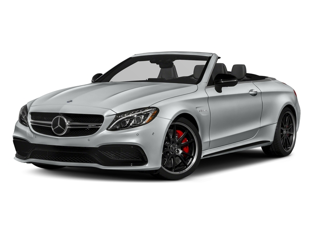Iridium Silver Metallic 2018 Mercedes-Benz C-Class Pictures C-Class AMG C 63 S Cabriolet photos front view