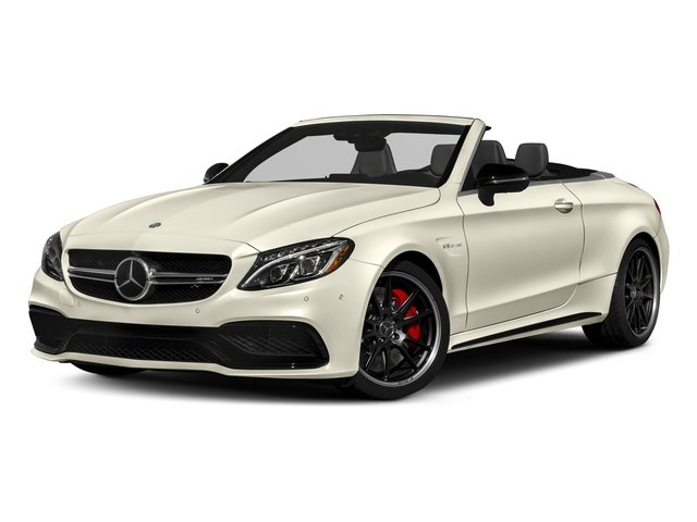 designo Diamond White Metallic 2018 Mercedes-Benz C-Class Pictures C-Class AMG C 63 S Cabriolet photos front view