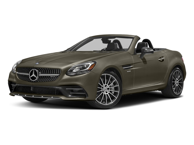 Indium Grey Metallic 2018 Mercedes-Benz SLC Pictures SLC AMG SLC 43 Roadster photos front view