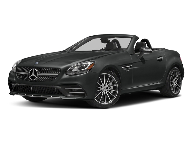 Selenite Grey Metallic 2018 Mercedes-Benz SLC Pictures SLC AMG SLC 43 Roadster photos front view
