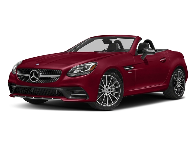 designo Cardinal Red Metallic 2018 Mercedes-Benz SLC Pictures SLC AMG SLC 43 Roadster photos front view