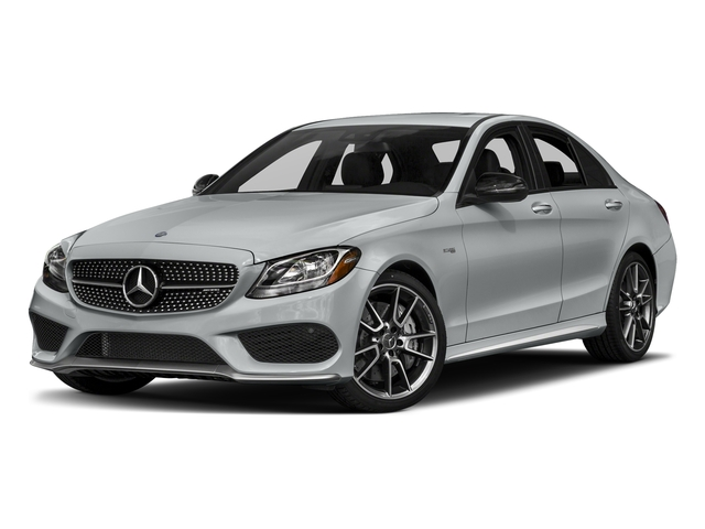 Iridium Silver Metallic 2018 Mercedes-Benz C-Class Pictures C-Class AMG C 43 4MATIC Sedan photos front view